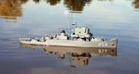 CORVETA USS WHITEHALL PATROL CRAFT ESCORT P/MOTOR ELÉTRICO KIT ESC.: 1/96